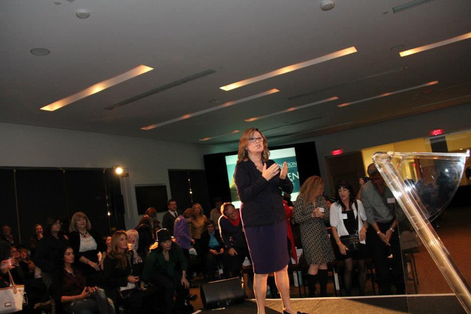 Karen lectures in Toronto