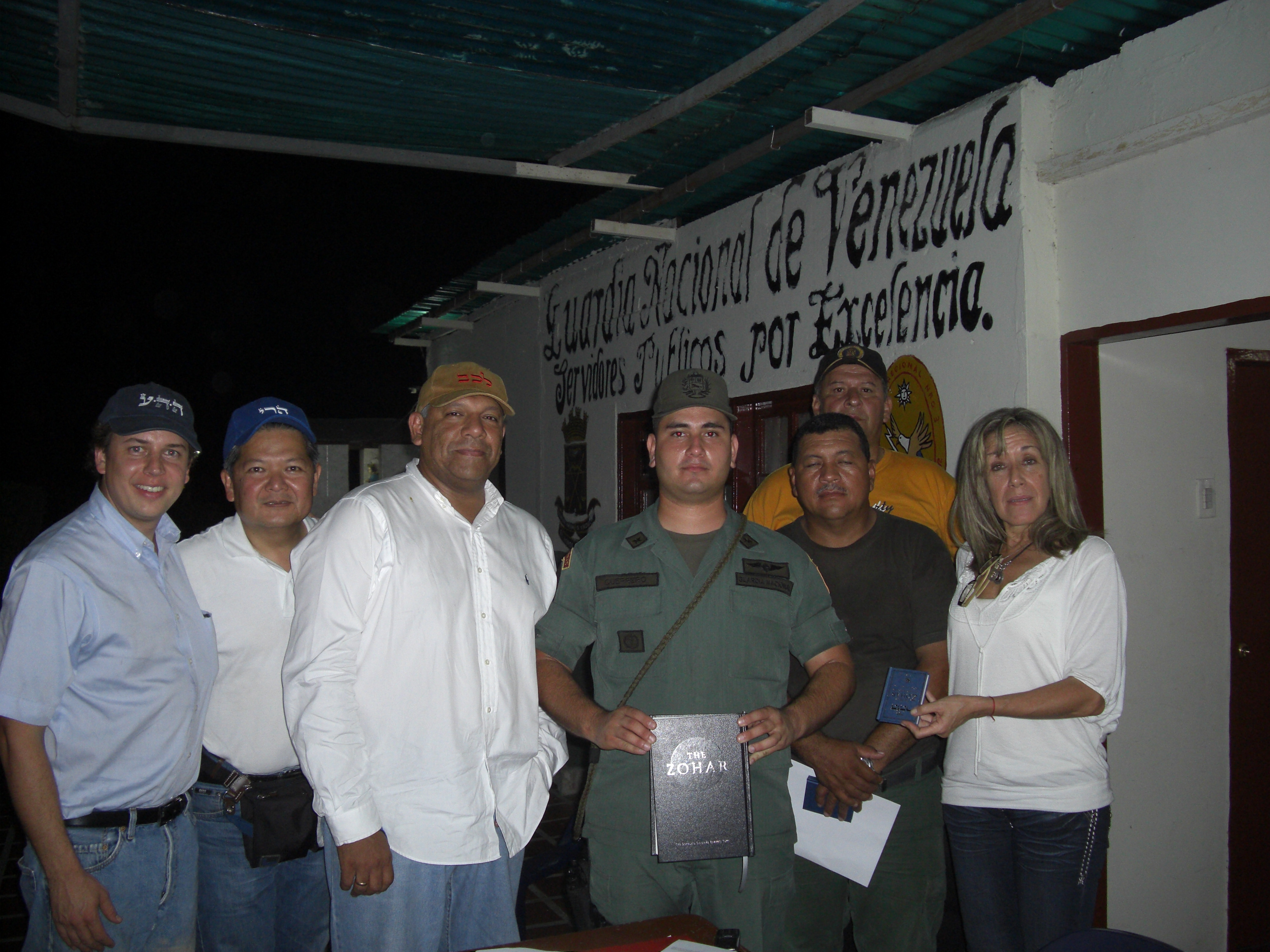 A Venezuelan police station near the Colombian border received a Sacred Zohar