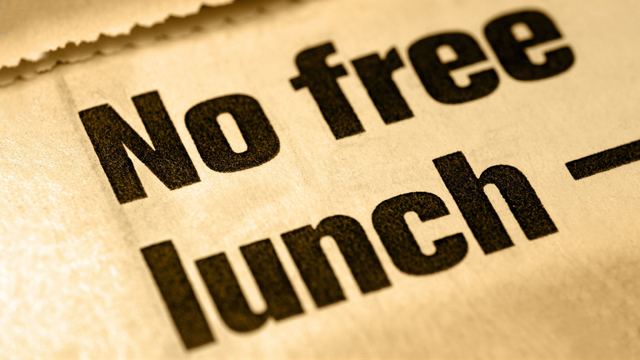 No Free Lunches (And It's So Good)