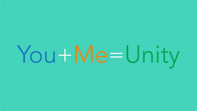 The Math of Unity