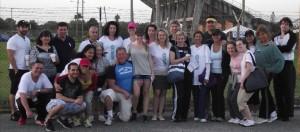Team Kabbalah volunteers