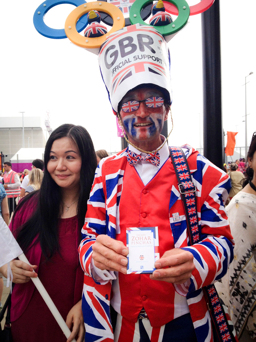 A British 'superfan'